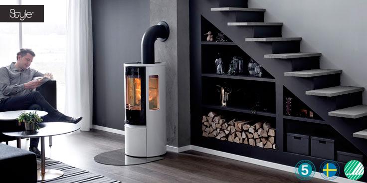 contura 556 style kaminofen mit gusst r feuerland kiel. Black Bedroom Furniture Sets. Home Design Ideas