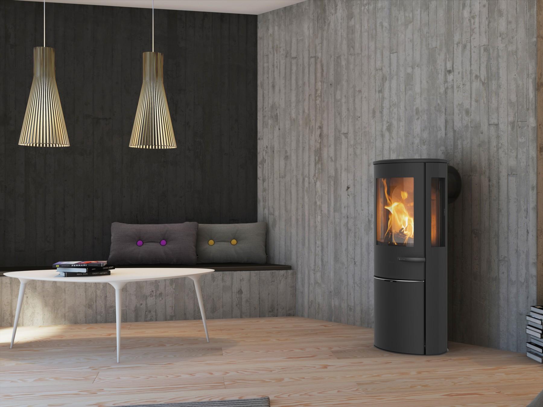 lotus liva 6 g kaminofen feuerland kiel. Black Bedroom Furniture Sets. Home Design Ideas