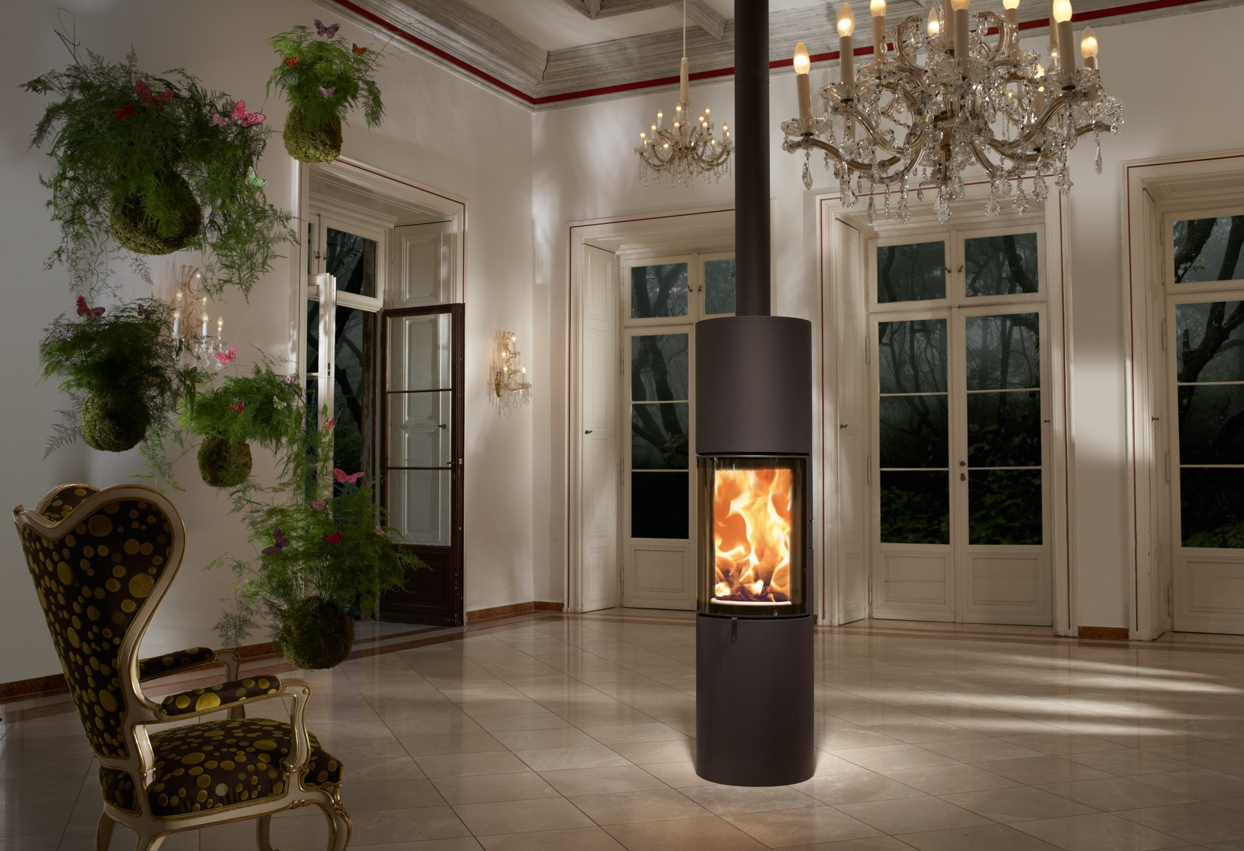 austroflamm slila kaminofen feuerland kiel. Black Bedroom Furniture Sets. Home Design Ideas